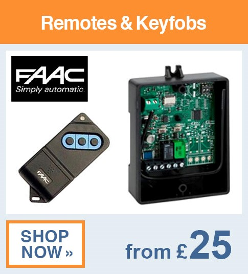 FAAC Remotes & Keyfobs