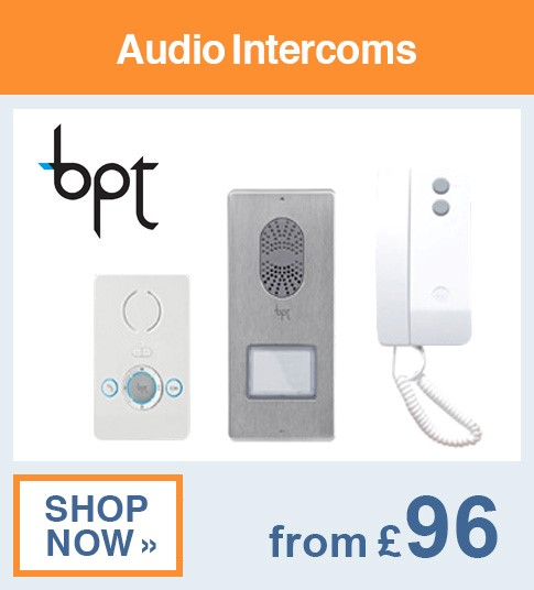 BPT Audio Intercoms