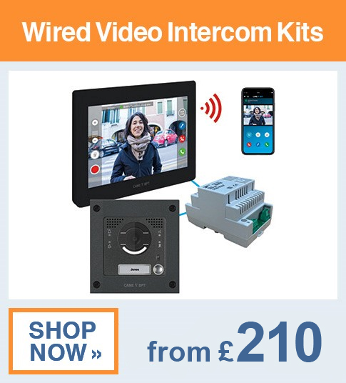 Hard Wired Video Intercom Kits