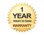 3 year warranty on this gate kit