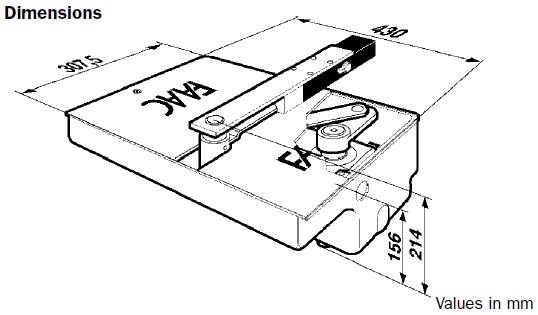 Faac 770 Double Underground Gate Kit Gate Motors Uk
