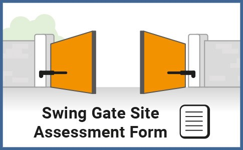 Swing Gate Site Assessment Form