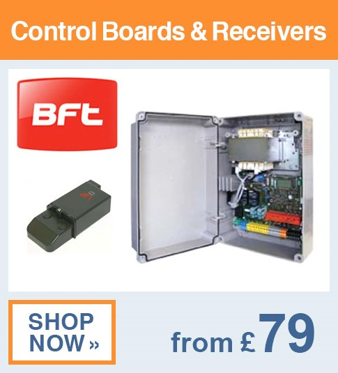 BFT Control Boards & Receivers