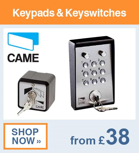 Came Keypads & Keyswitches