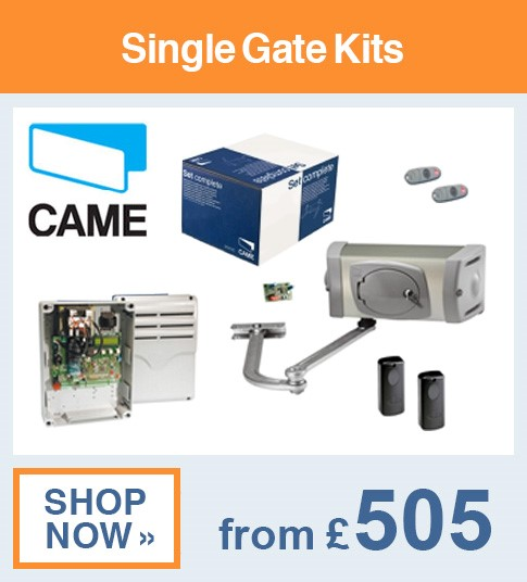 Came Single Gate Kits