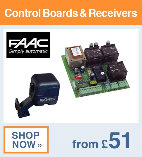 FAAC Control Boards & Receivers
