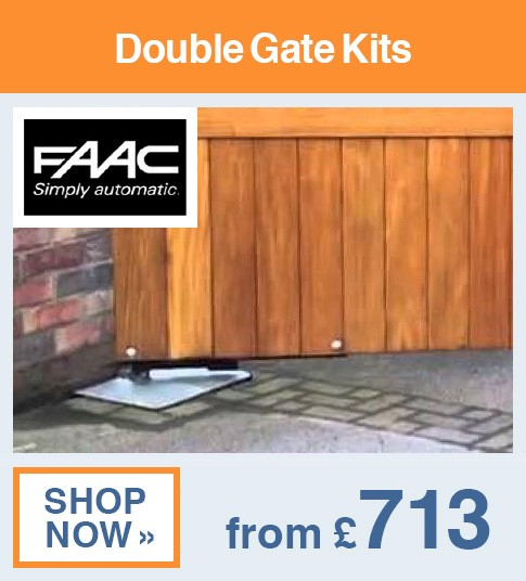 FAAC Double Gate Kits