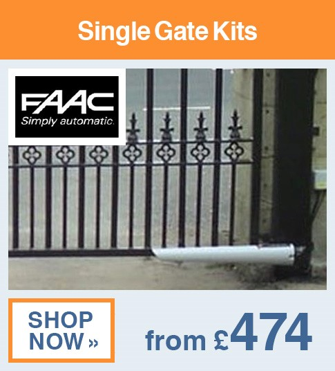 FAAC Single Gate Kits