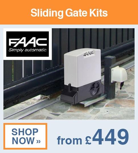 FAAC Sliding Gate Kits