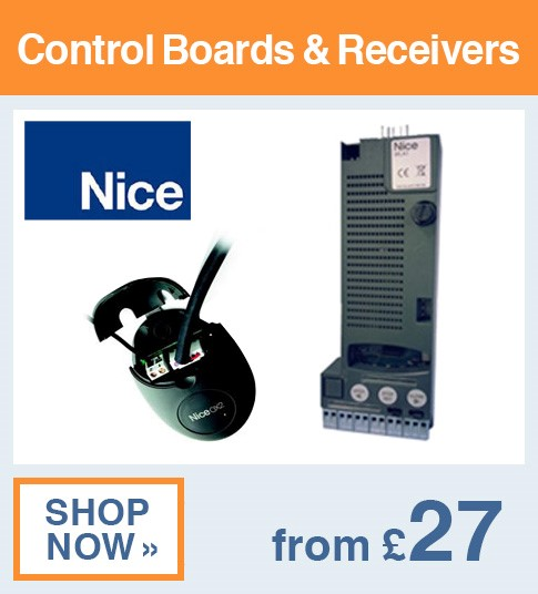 Nice Control Boards & Receivers