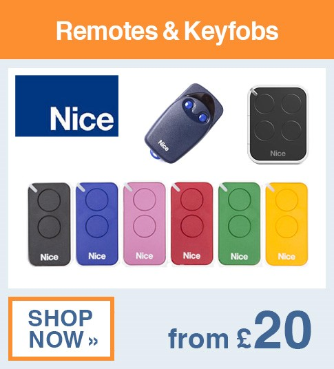 Nice Remotes & Keyfobs