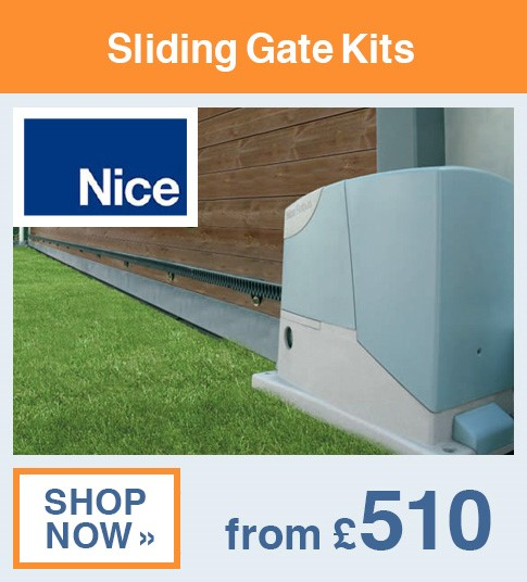 Nice Sliding Gate Kits