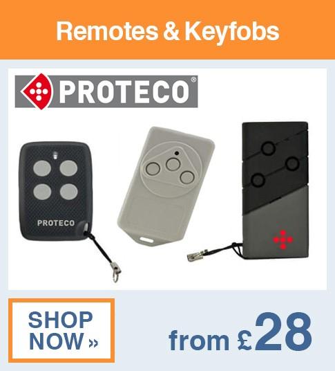 Proteco Remotes & Keyfobs