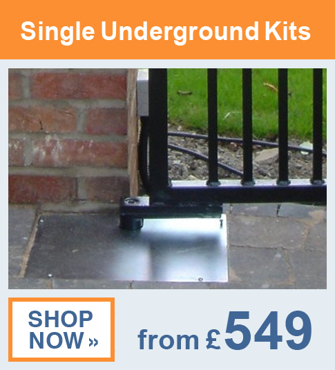Single Underground Gate Kits