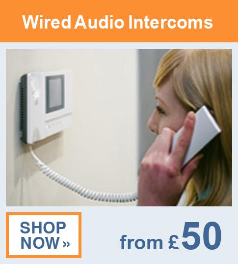 Hard Wired Audio Intercom Kits