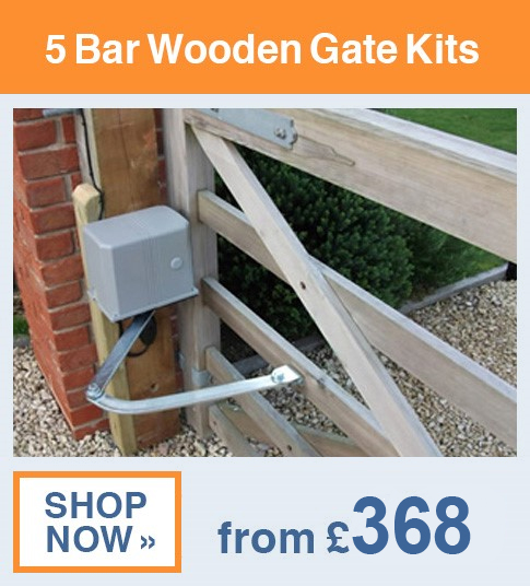 5 Bar Wooden Gate Kits