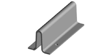 Image for Galvanised Drilled Track For Sliding Gate In Concrete