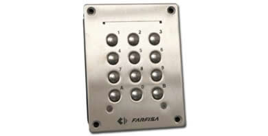 Image for Farfisa FC32P Keypad - Anti-vandal Flush Mounted