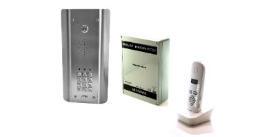 Image for 603 Dect Wireless Intercom Architectural Stainless Steel With Keypad