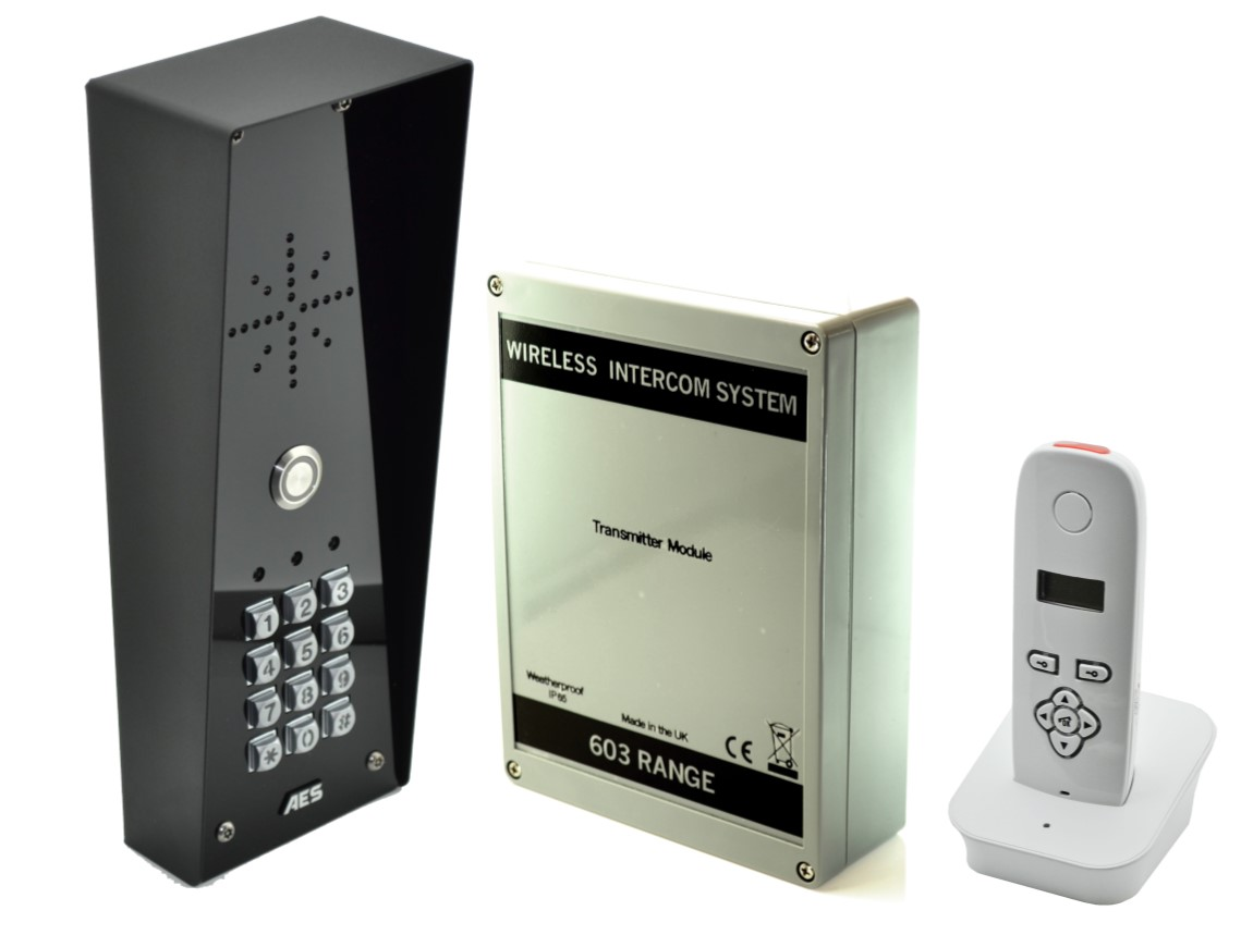 Image for 603 Dect Wireless Intercom Imperial With Keypad