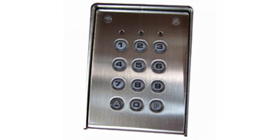 Image for Proteco RT35 Stainless Steel Keypad