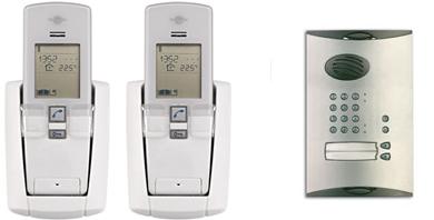 Image for Daitem 2 Property SC901AU - Wireless Intercom with Push Button