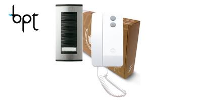 Image for BPT Targha to Agata Audio Intercom Kit