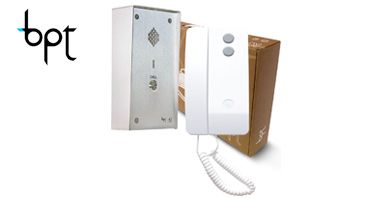 Image for BPT Vandal Resistant to Agata Audio Intercom