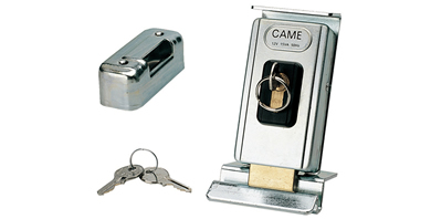 Electric Lock with Single Cylinder