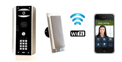 Image for AES Predator 2 Wi-Fi Colour Video Intercom with Keypad